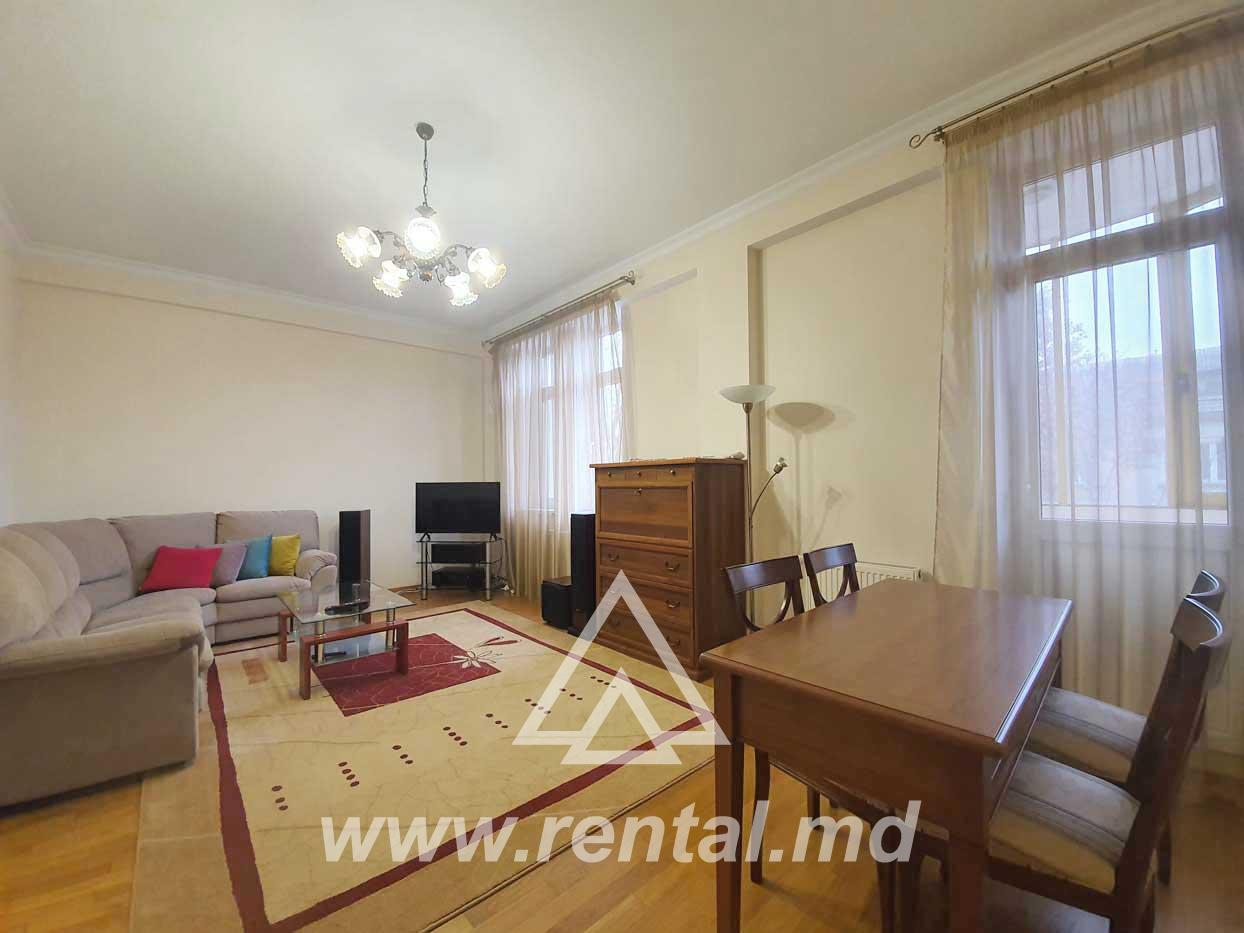3-rooms Chisinau apartment in Lara City
