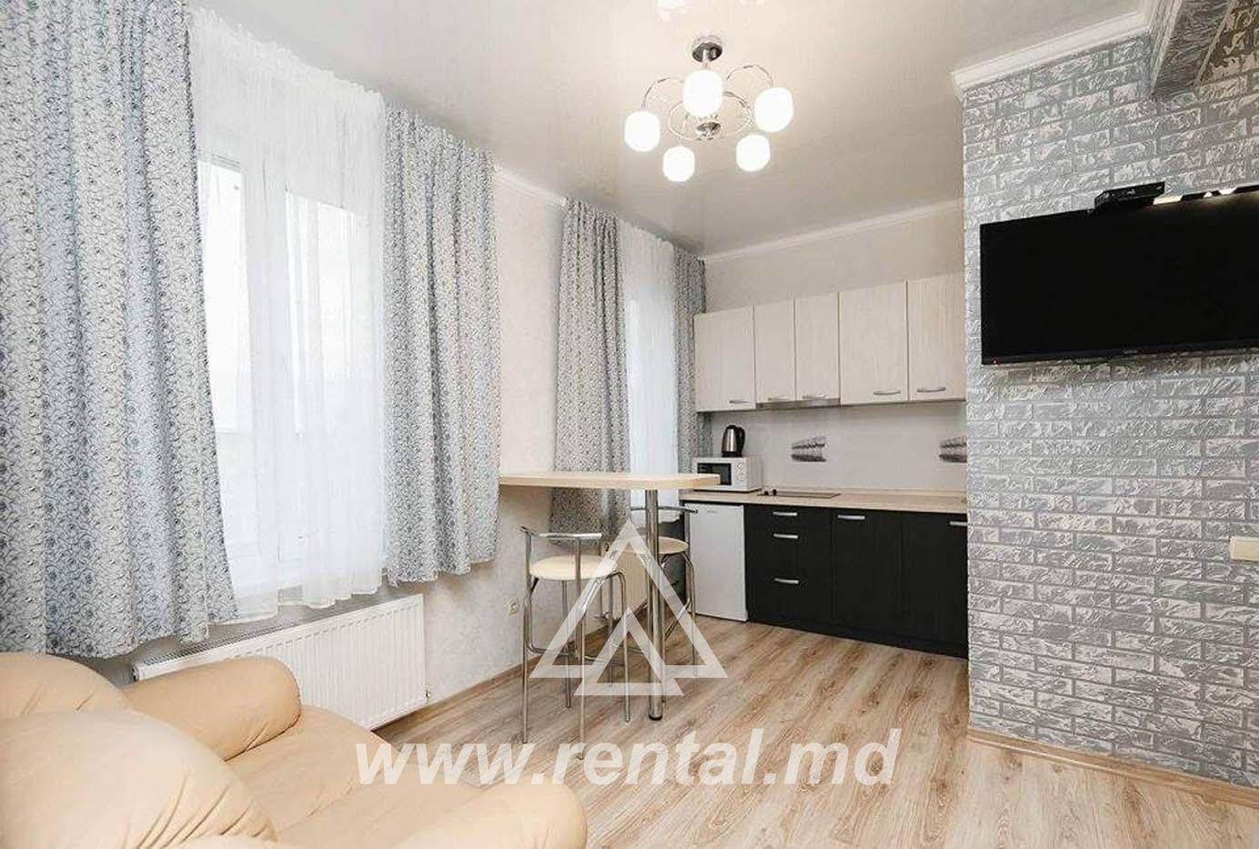 1-room Chisinau apartment centrally located