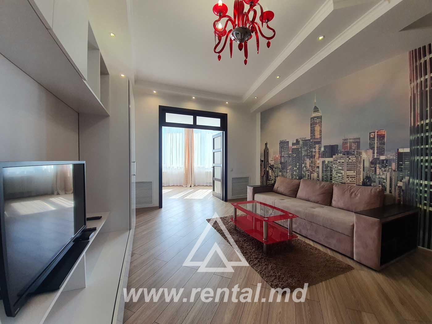 Modern flat for rent in the city center