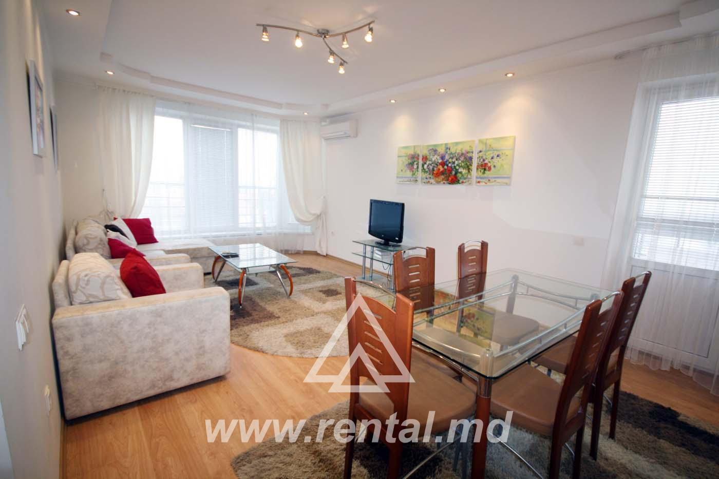 Chisinau apartment for rent in the center
