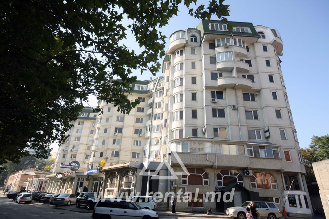 3-rooms Chisinau apartment in a new block of flats