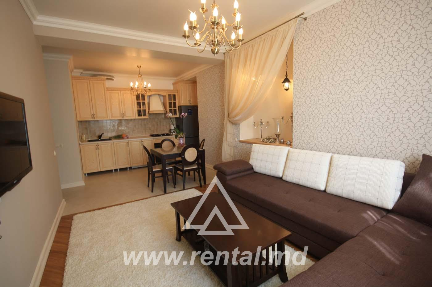 2-rooms apartment in Chisinau