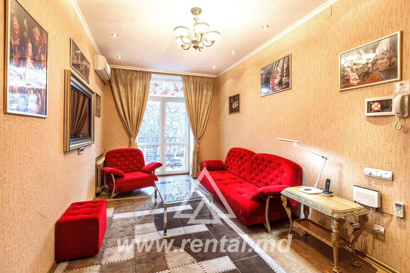 3 rooms apartment in the city Center