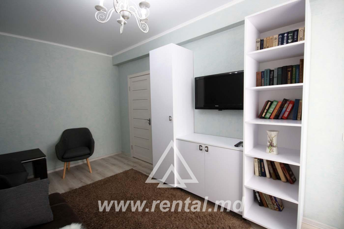 2 rooms apartment on V. Alecsandri Street