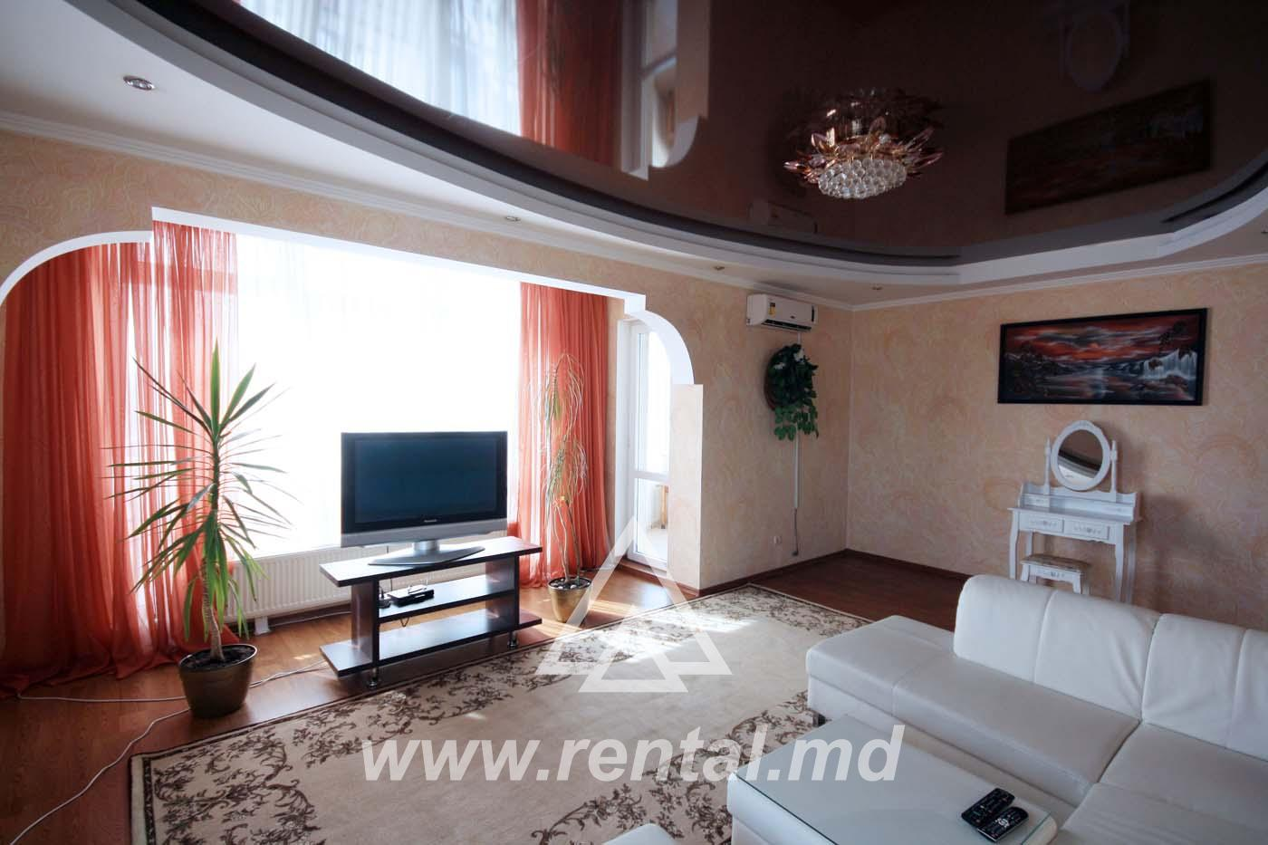 3-rooms apartment for rent in new building