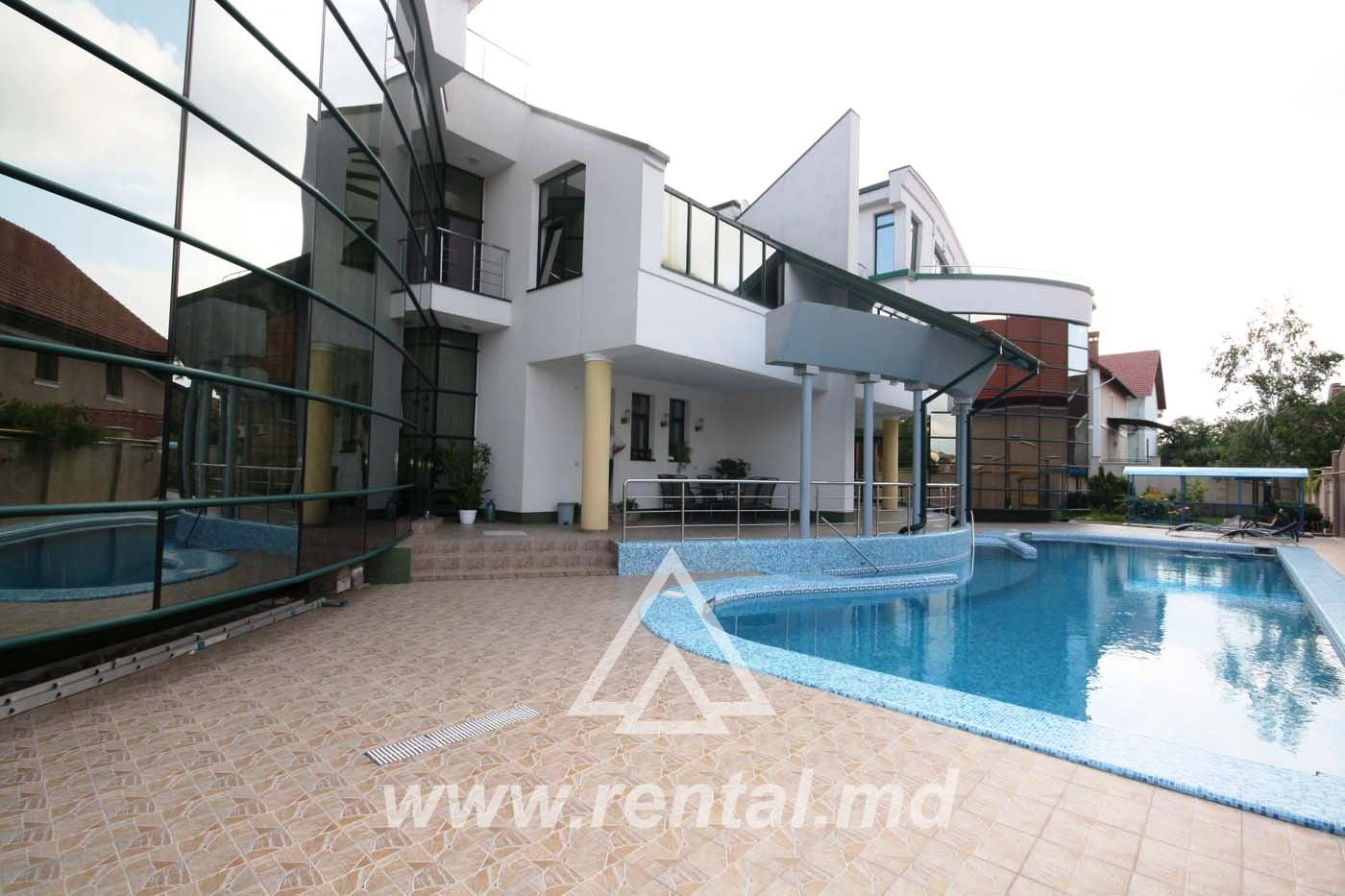 House for rent with swimming pool