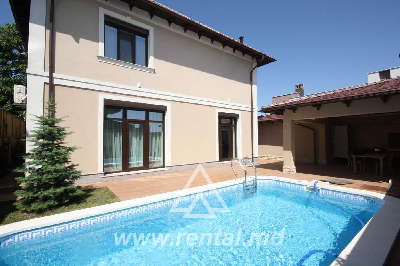 New house for rent in Telecenter with swimming pool