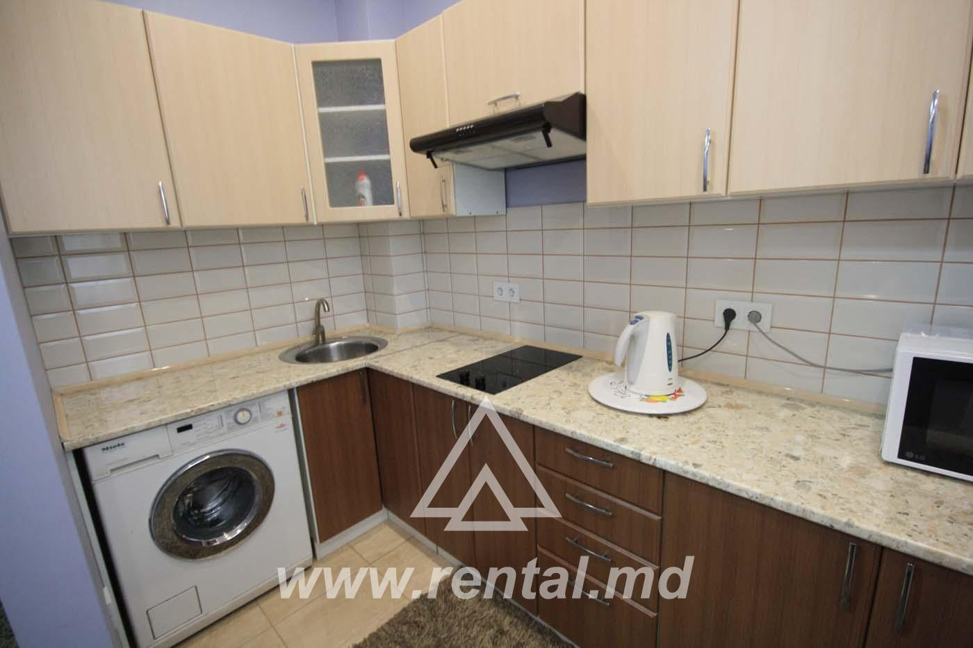 2-rooms apartment in Chisinau for daily rent