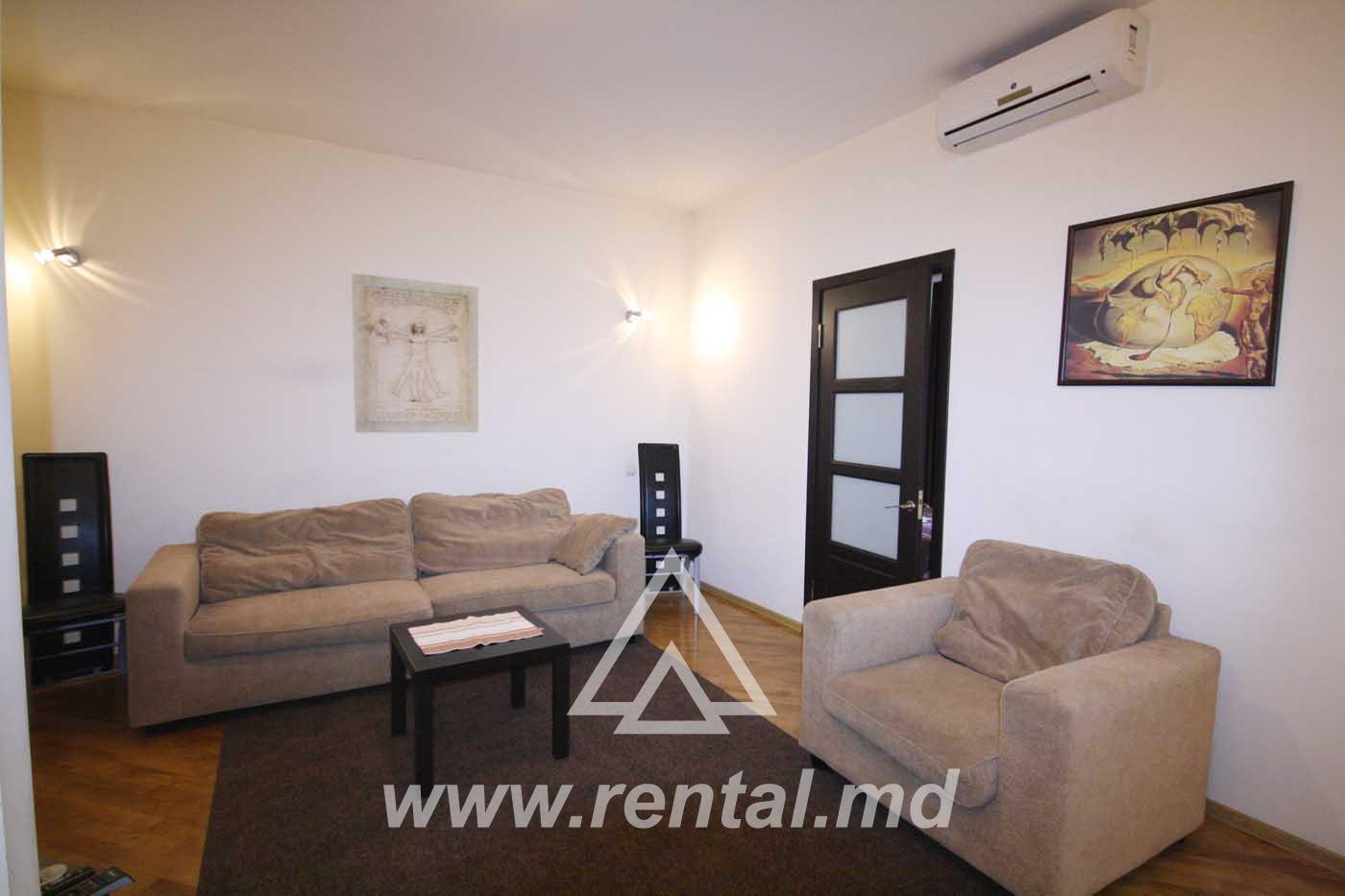 Spacious apartment for rent on Puskin Street