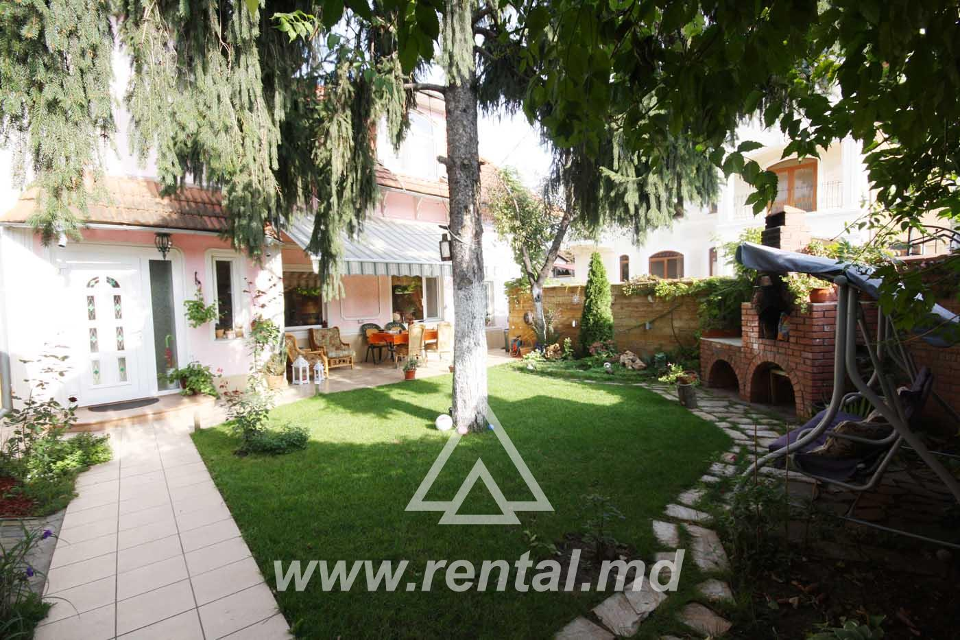 House for rent in Chisinau center