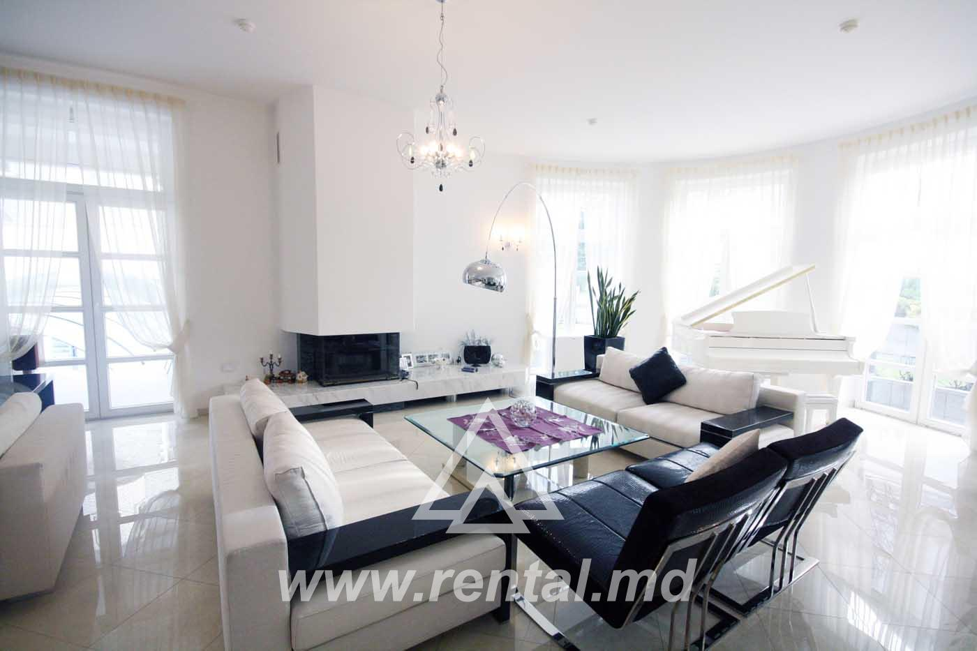 VIP house for rent or sale in Chisinau