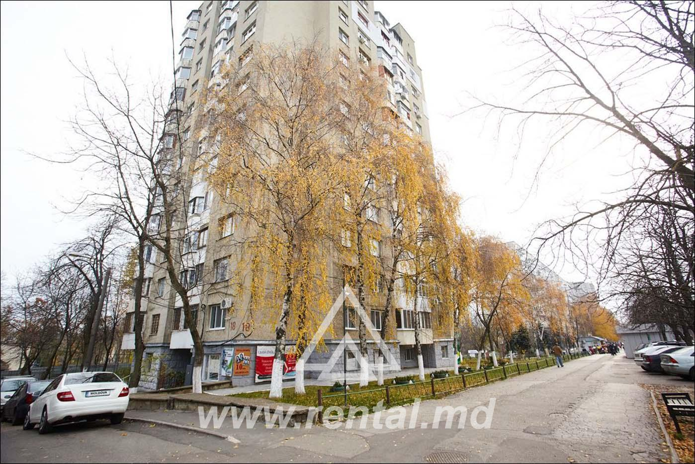2-rooms apartment in Chisinau for daily rent in Rascani