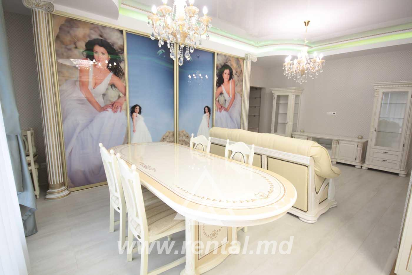 2-rooms VIP apartment for rent in Chisinau in Coliseum Palace