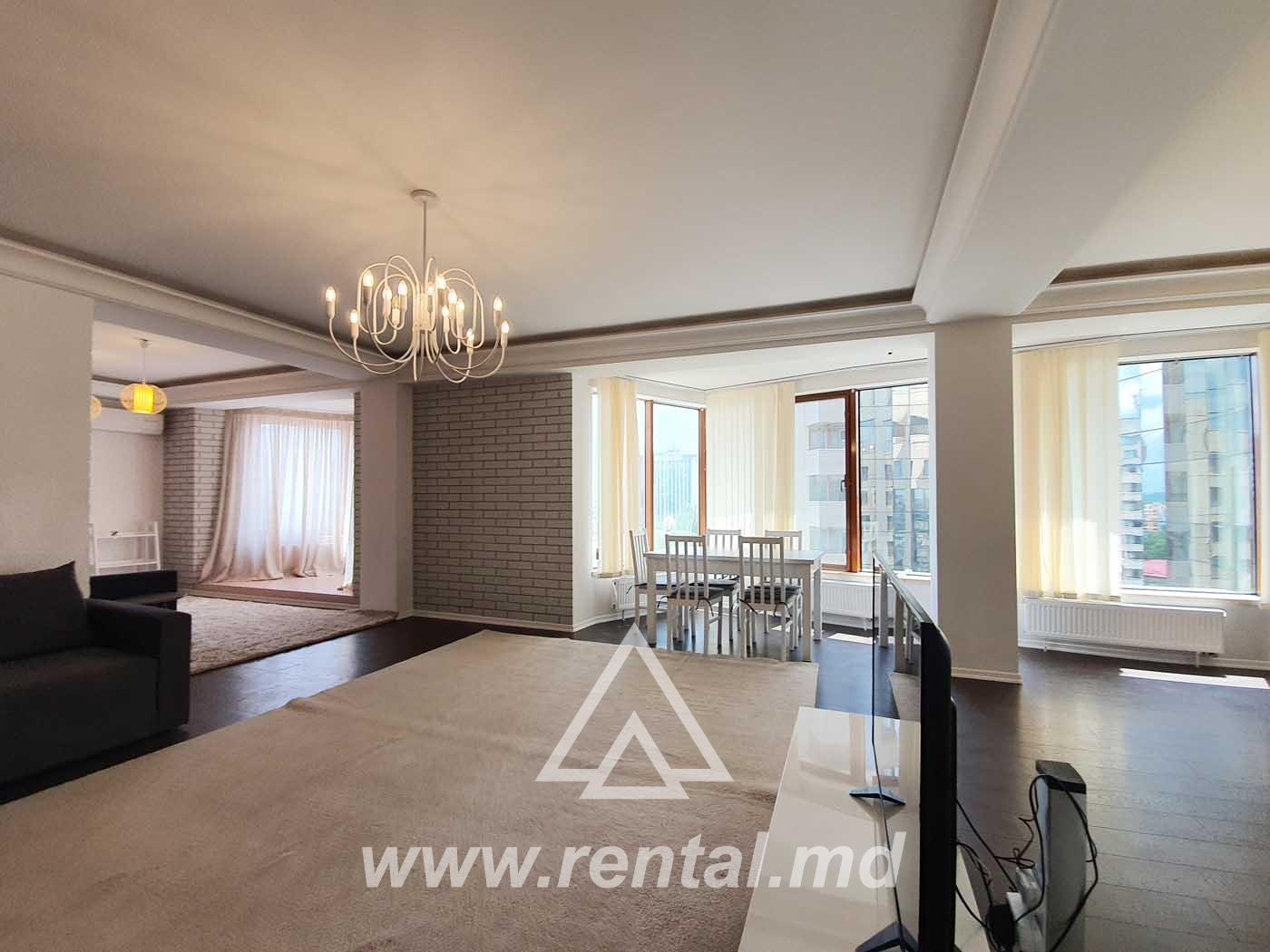 VIP Apartment for rent on Stefan cel Mare Boulevard