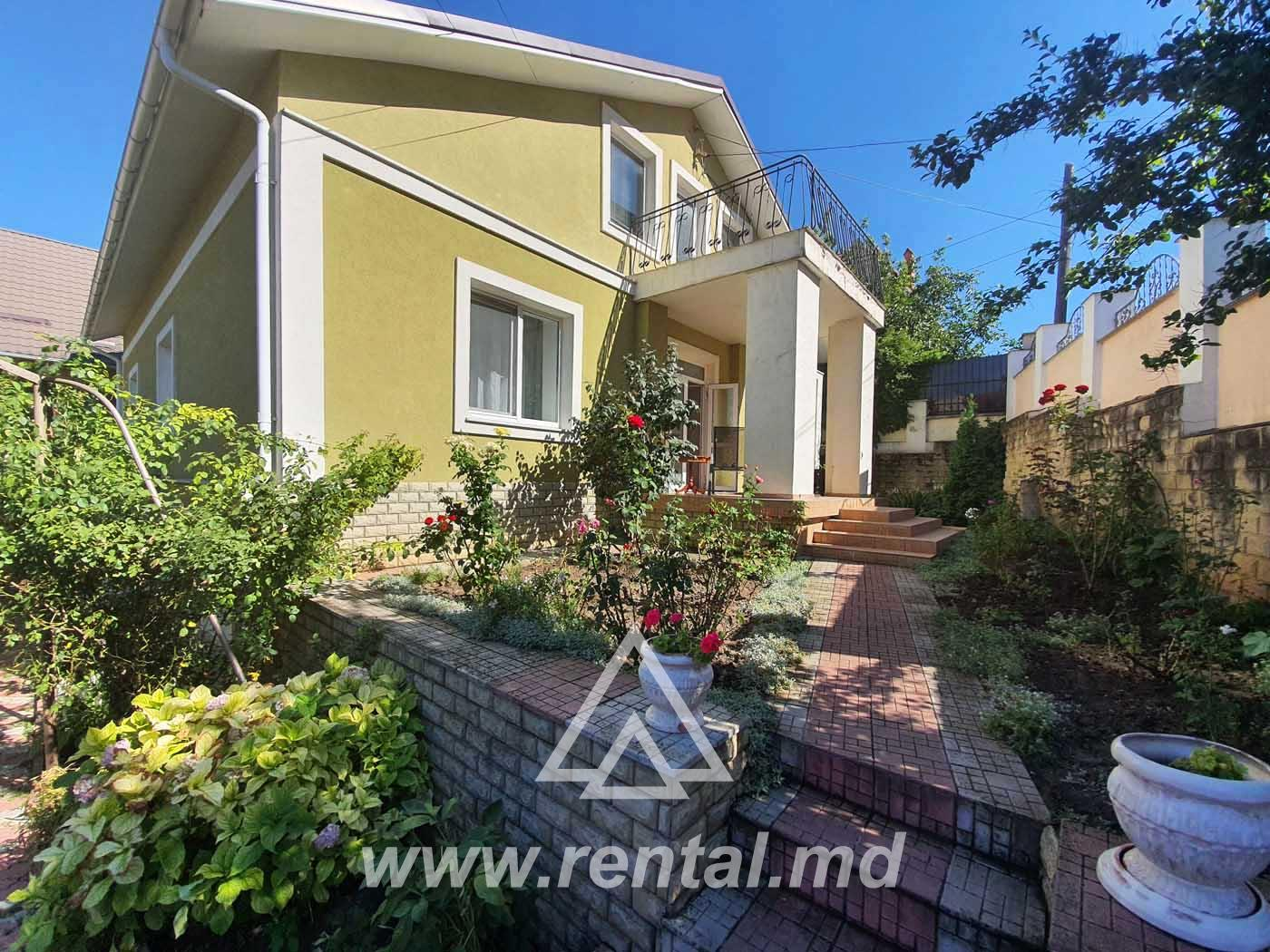 House for daily and long term rent in Chisinau