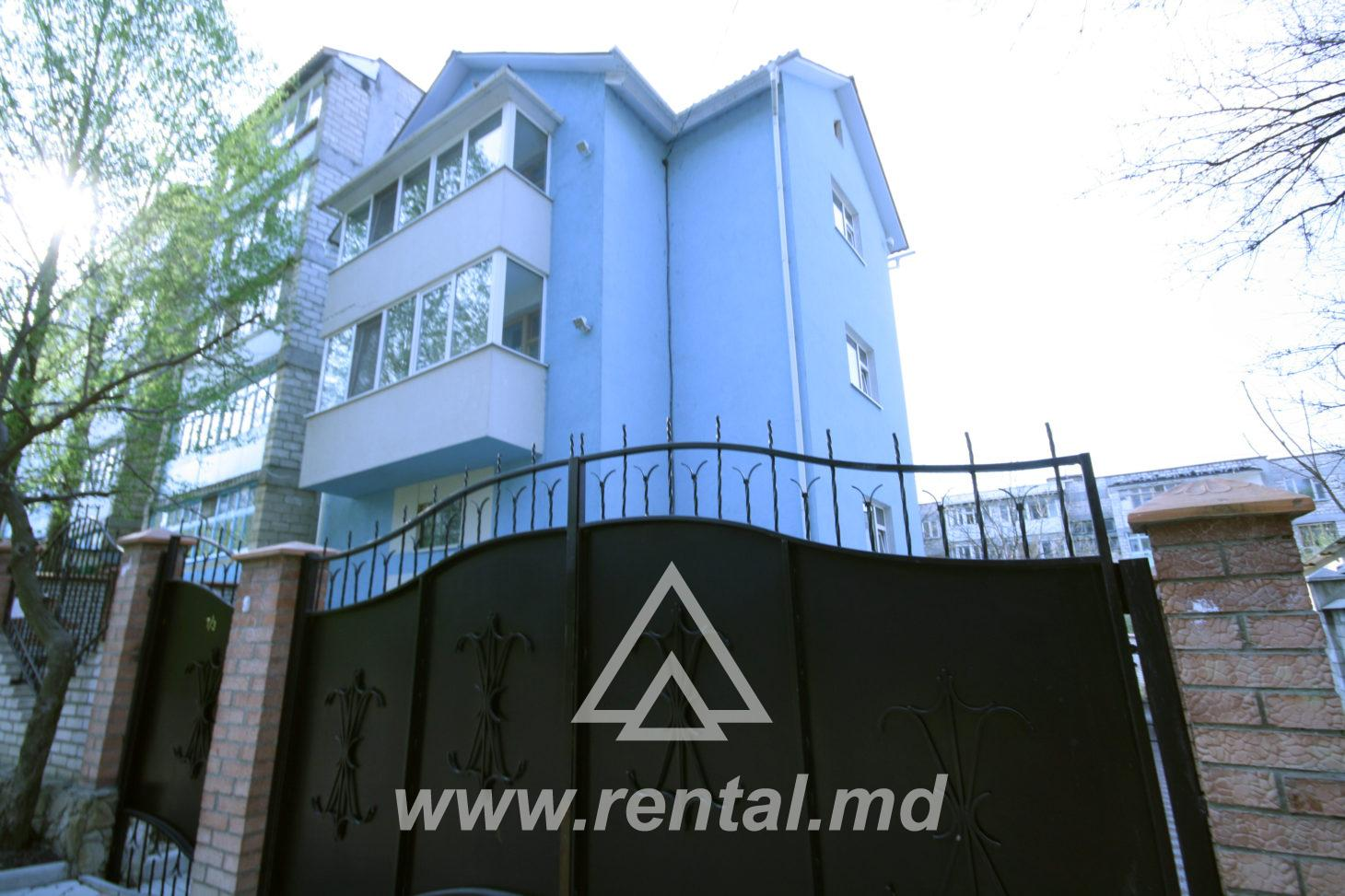 Chisinau apartment for daily rent in Buiucani