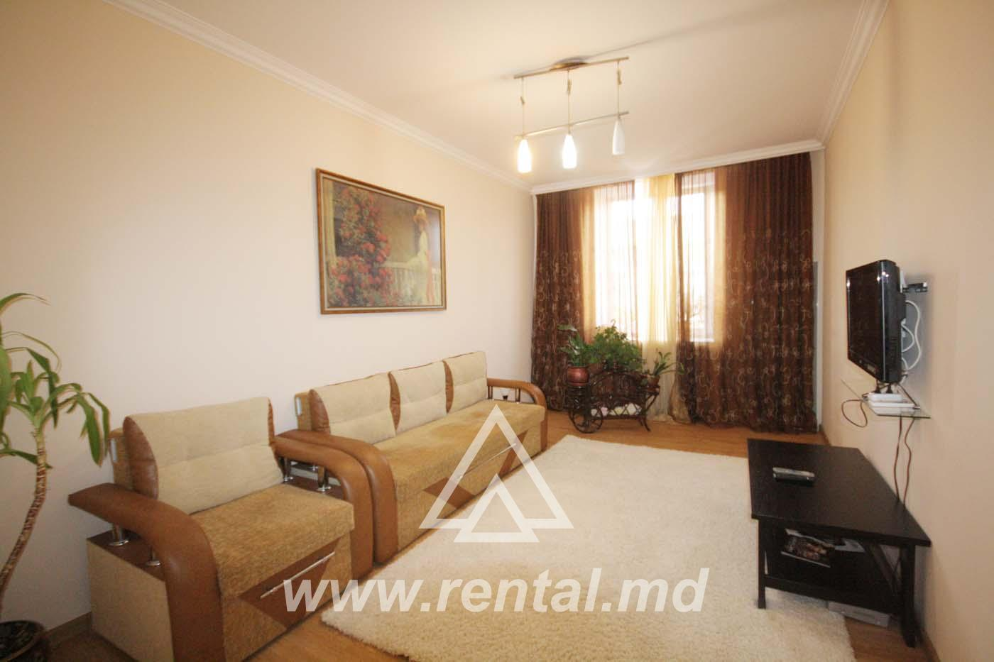 2 rooms apartment in the centre for daily rent