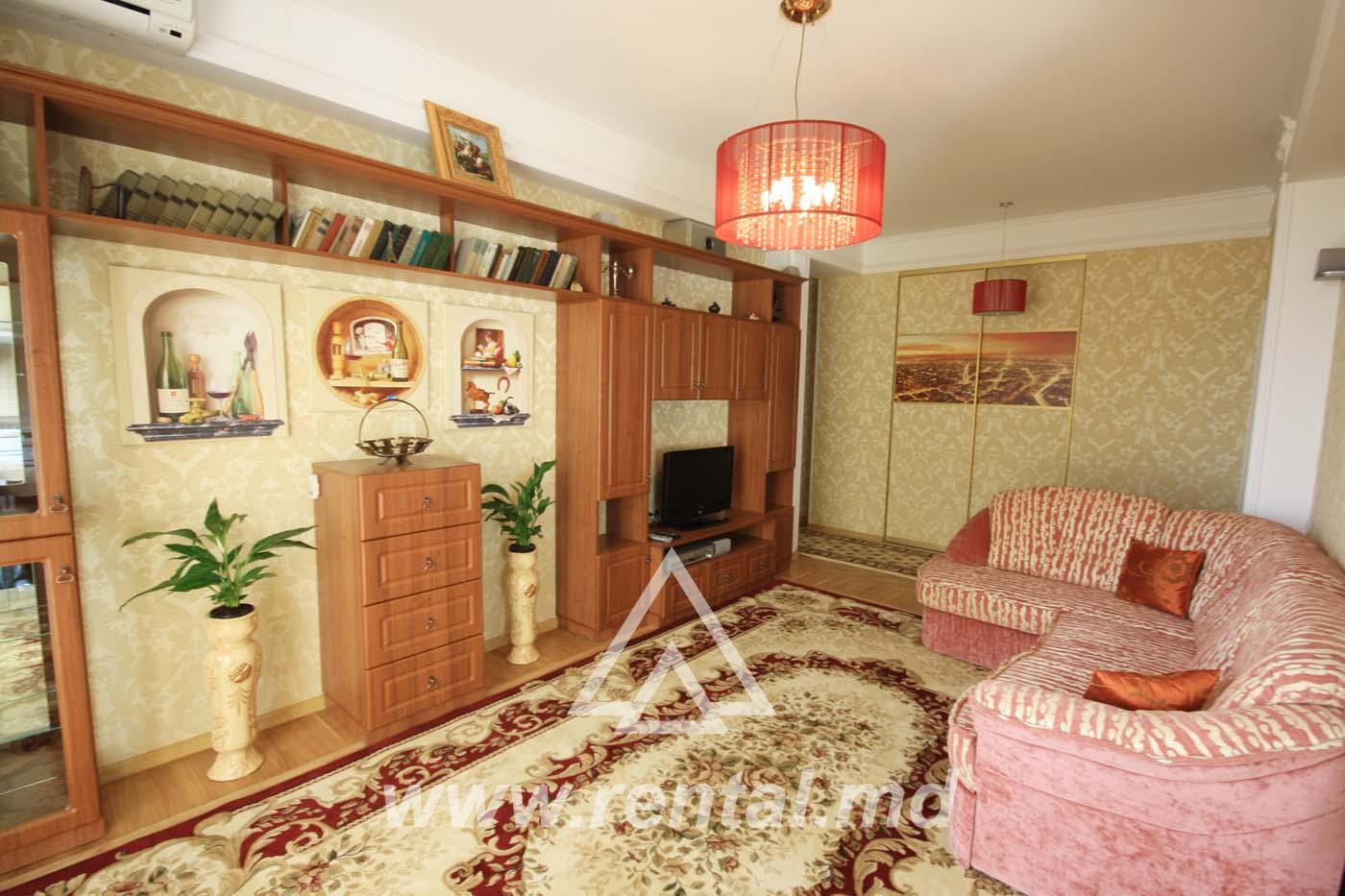 Apartment in the city center for daily rent