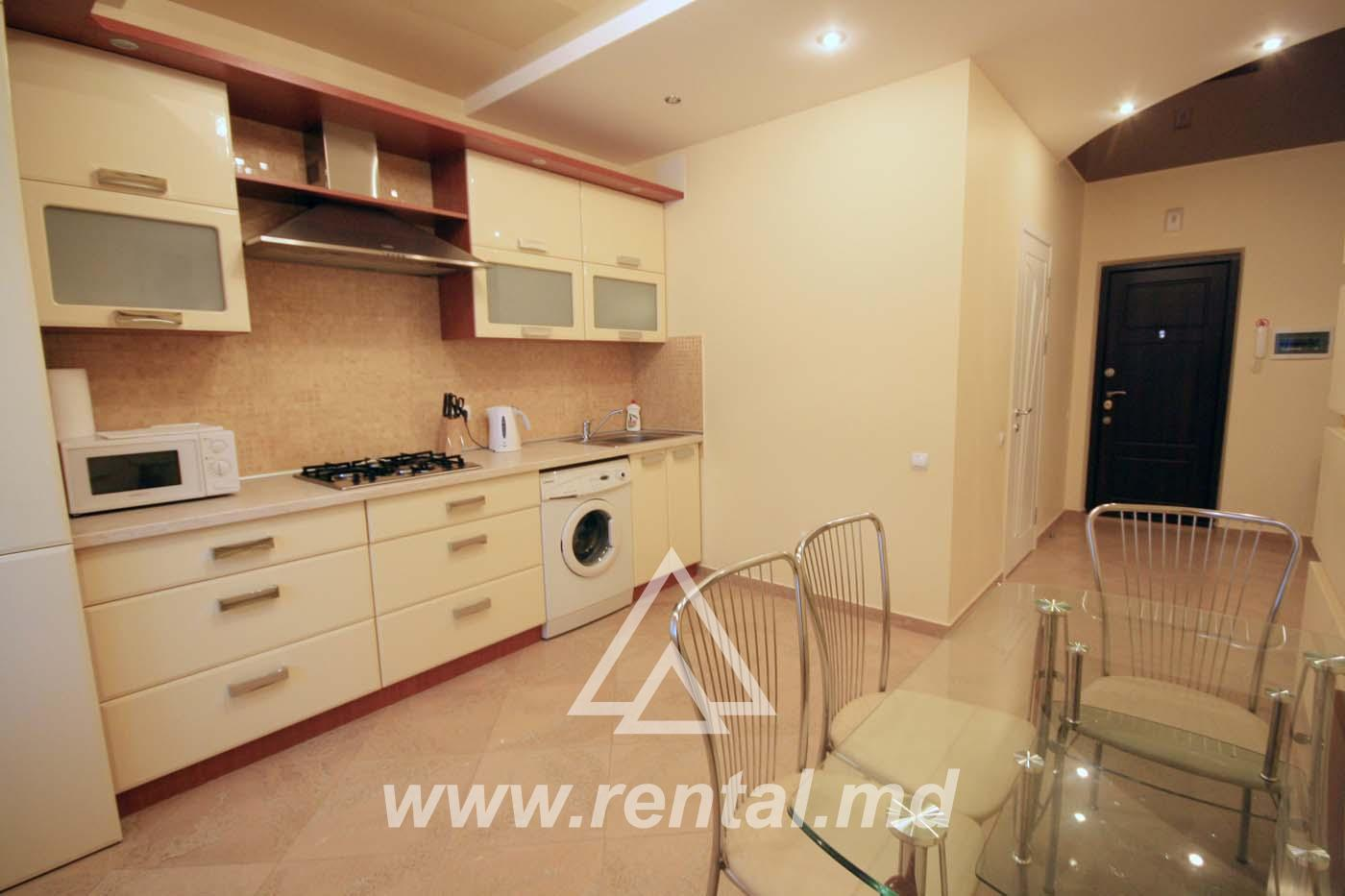 2-rooms apartment for rent in Chisinau