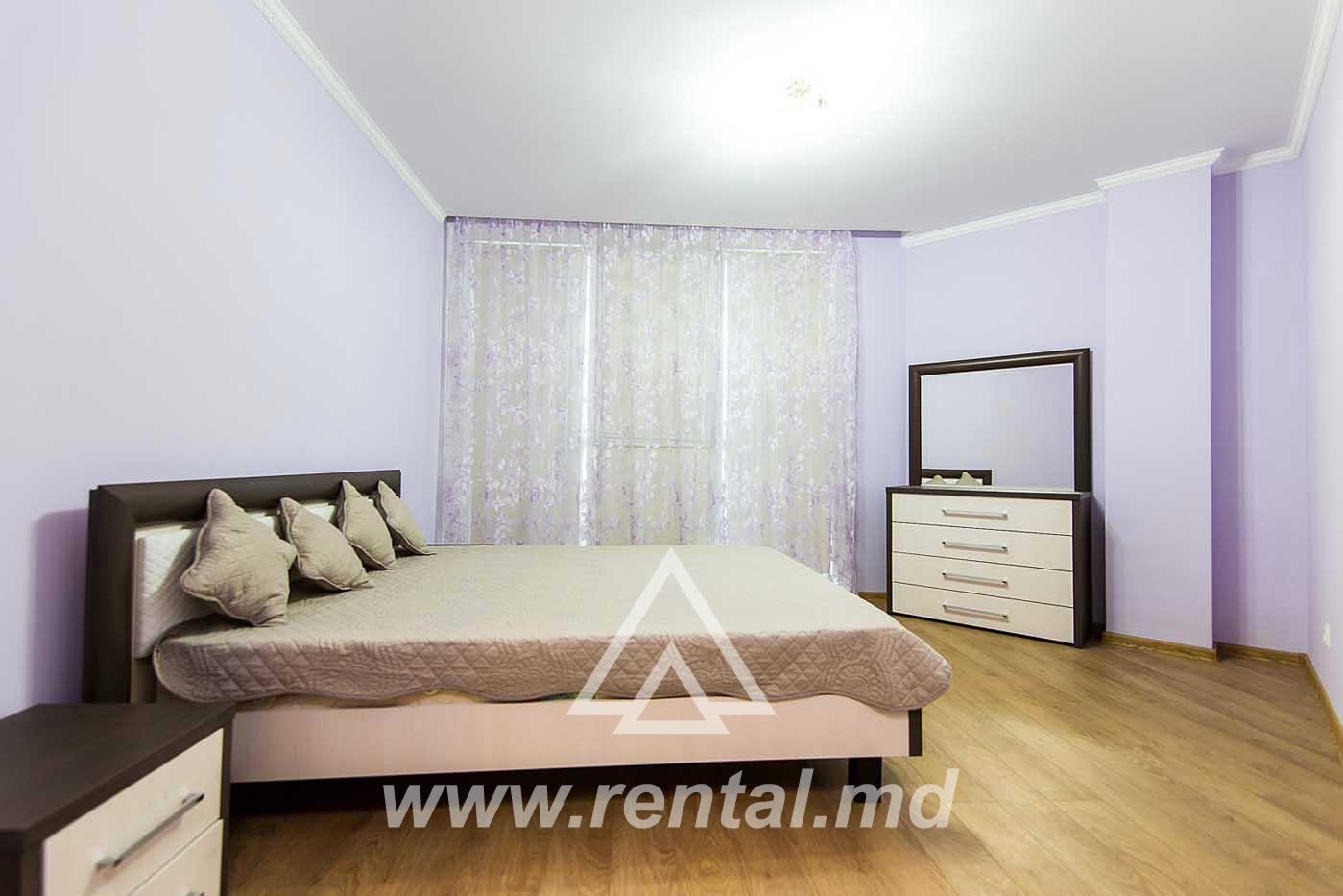 Apartment in the center of Chisinau for rent