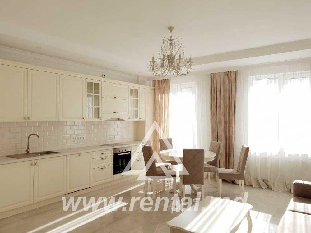 3 rooms apartment in Bernardazzi street