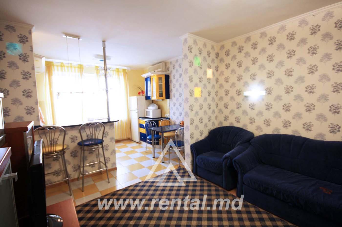 Apartment for rent in the city center with one bedroom