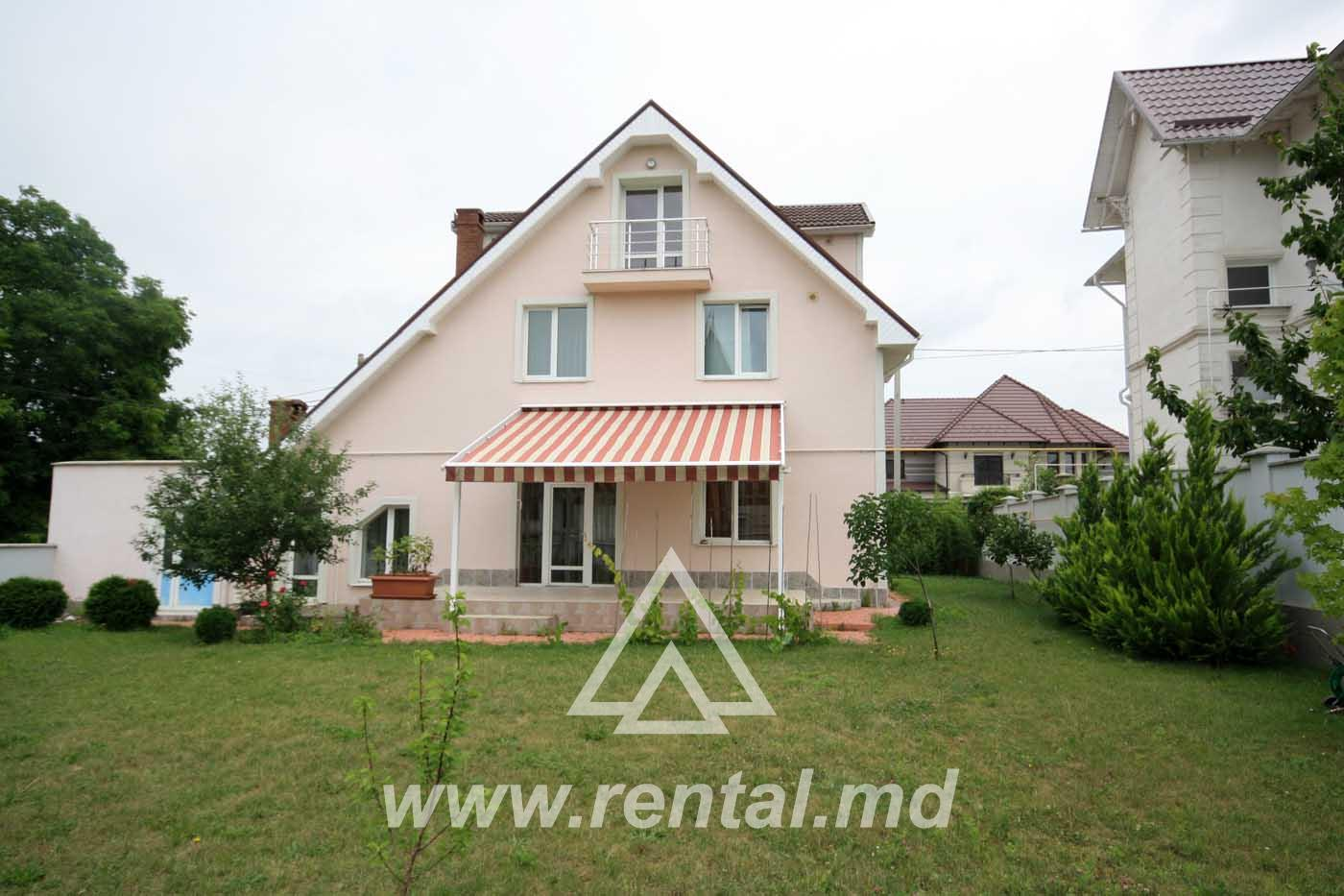 House for rent in Telecenter, Chisinau