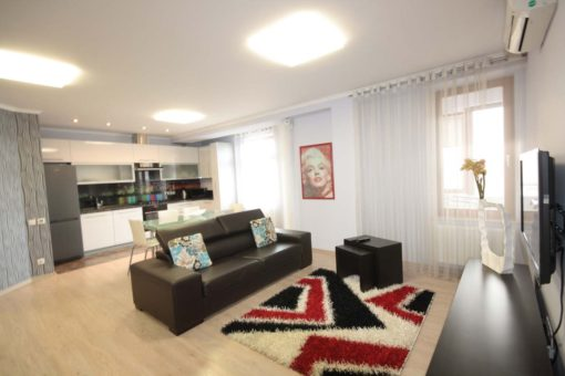 Apartment for long term rent in the center of Chisinau