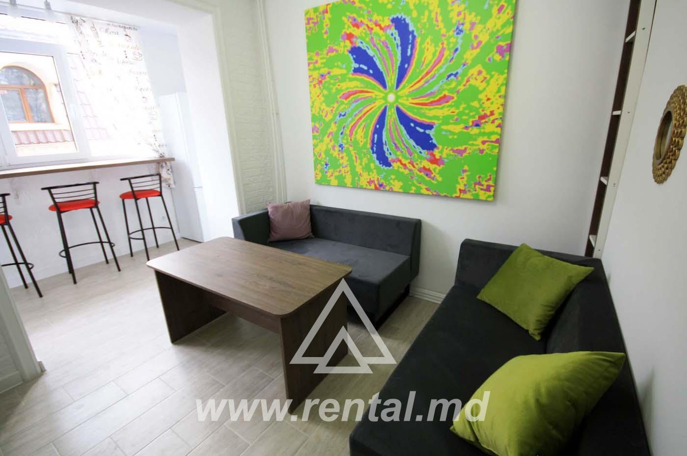 Spacious apartment for short term rent on Puskin Street