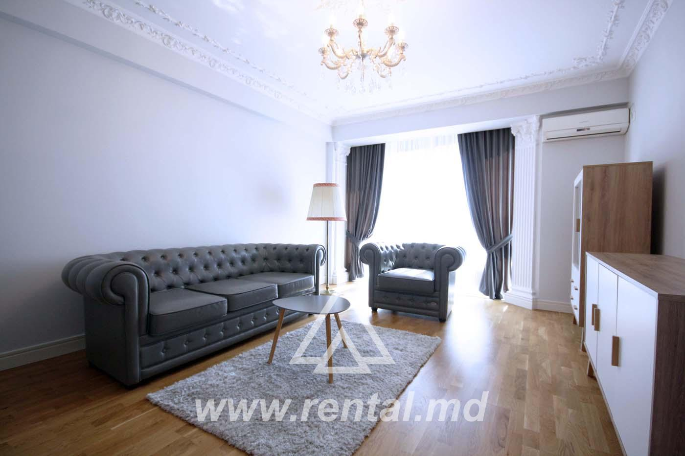 Modern apartment for rent in Chisinau center