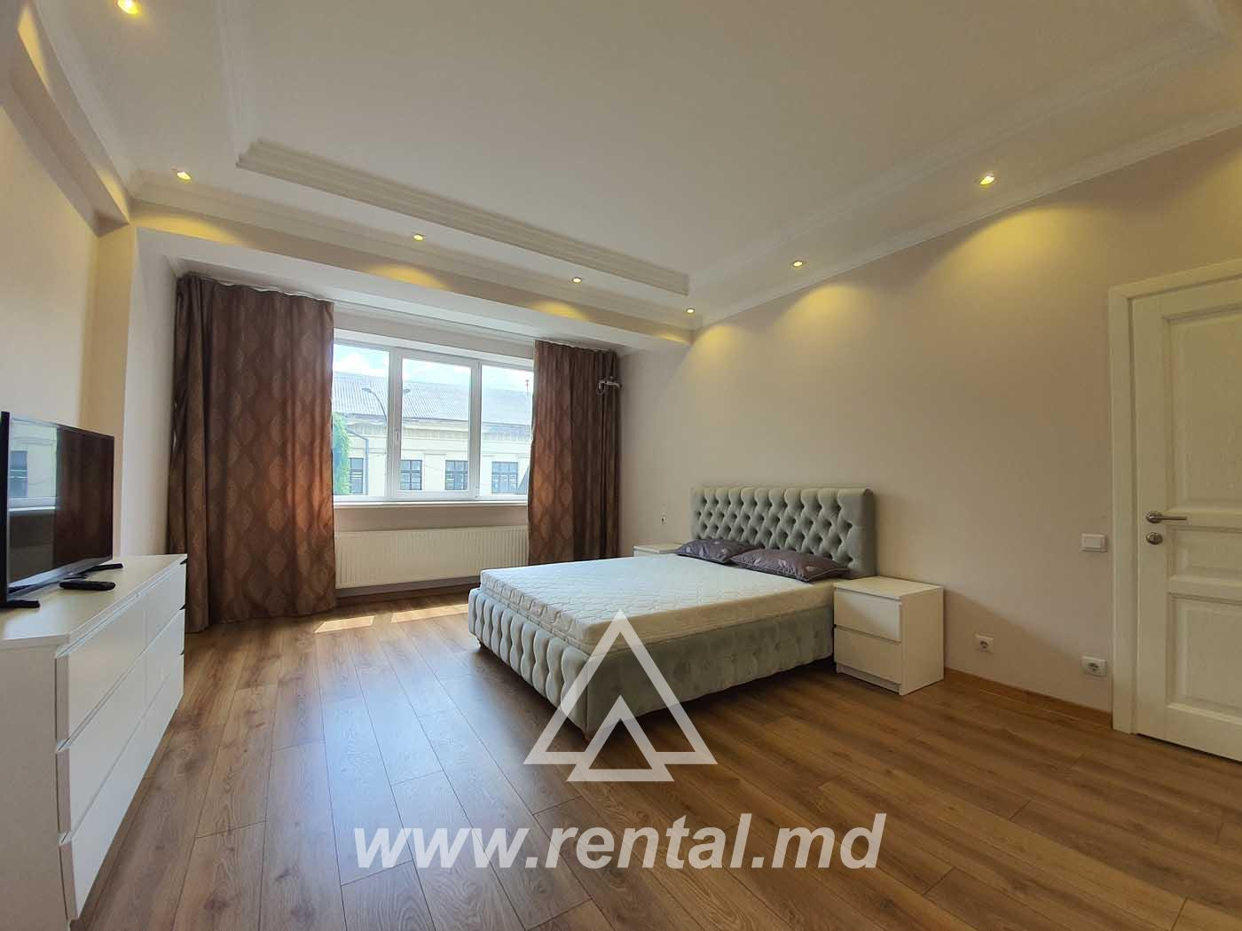 Modern apartment for rent in Chisinau city center
