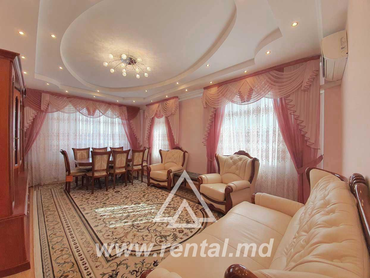 2 rooms apartment for long term rent in Chisinau center
