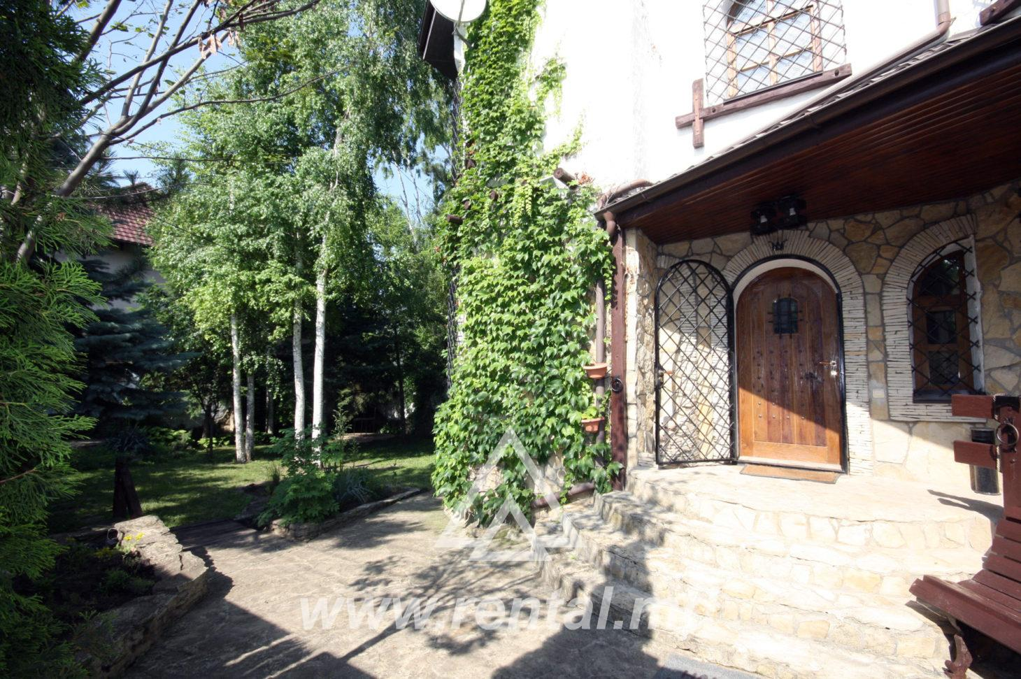 House for rent in Chisinau Buicani