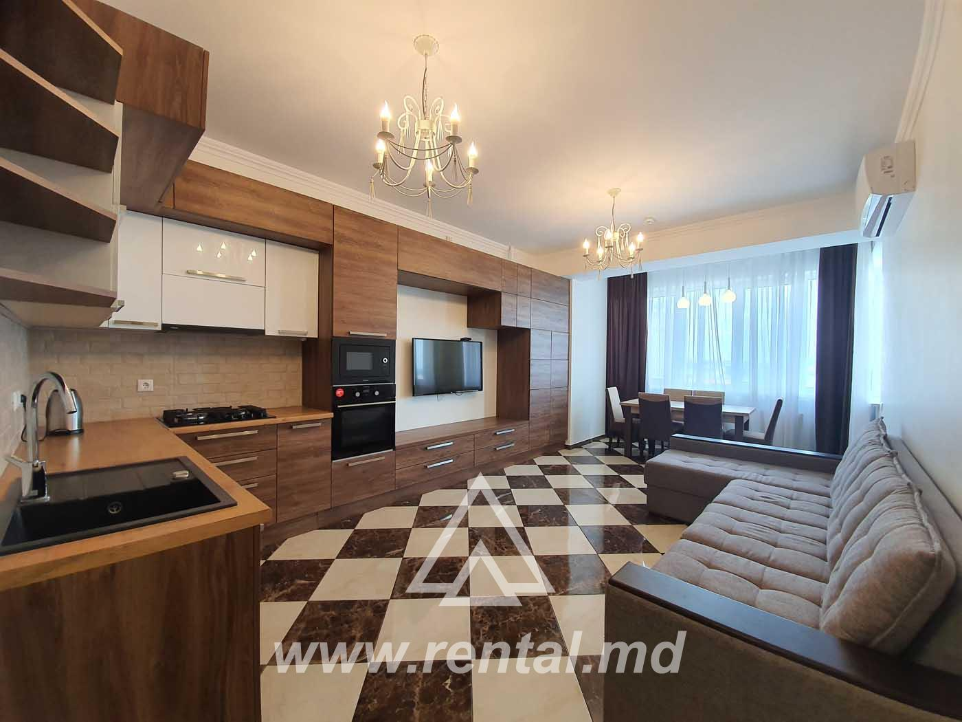 New apartment for rent in Chisinau center
