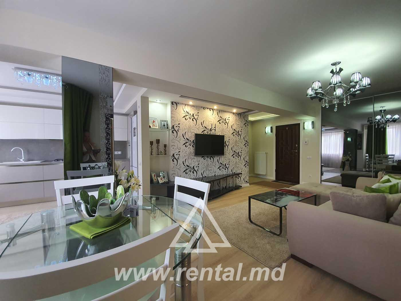 New apartment for rent near MallDova