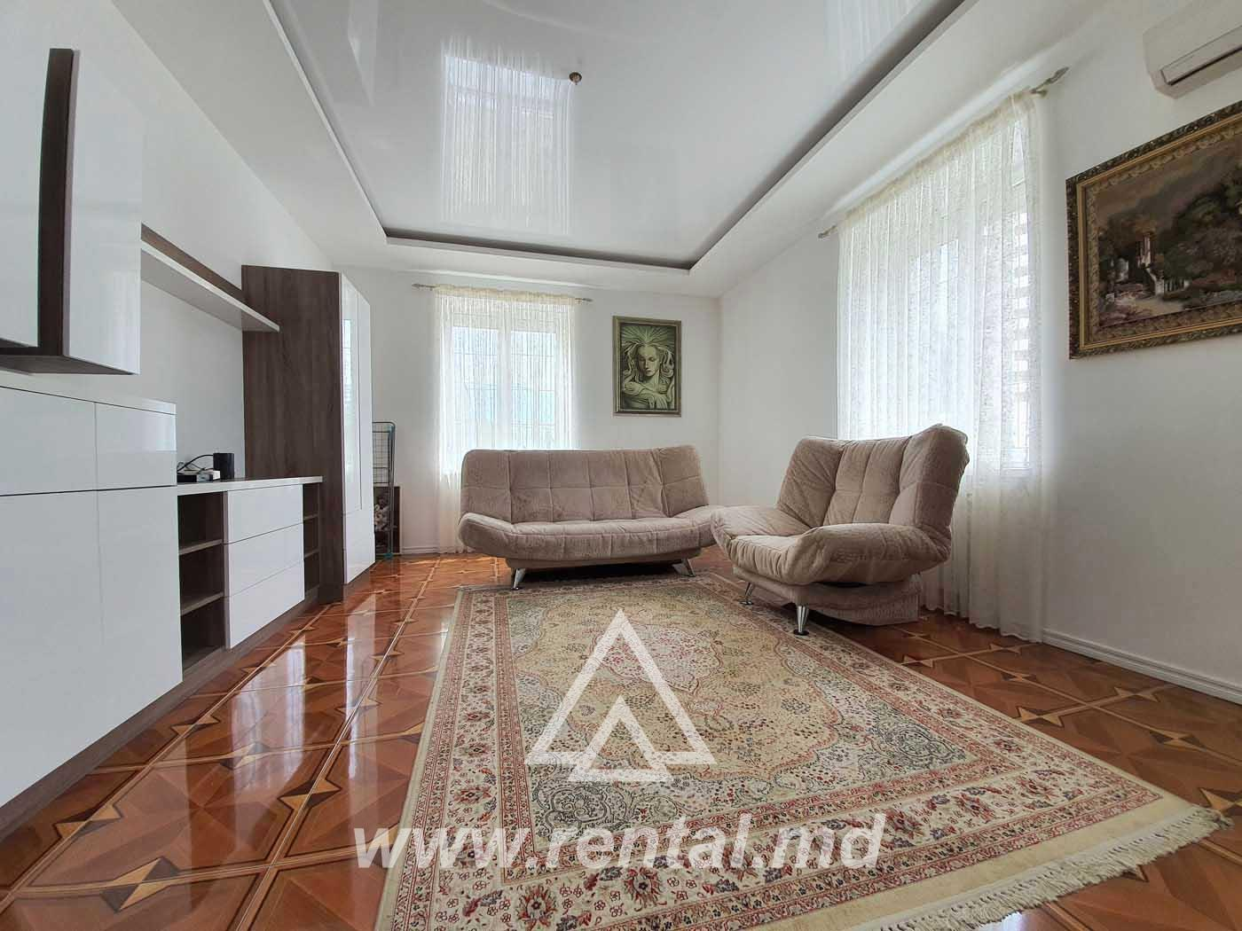 Apartment for rent on Stefan cel Mare