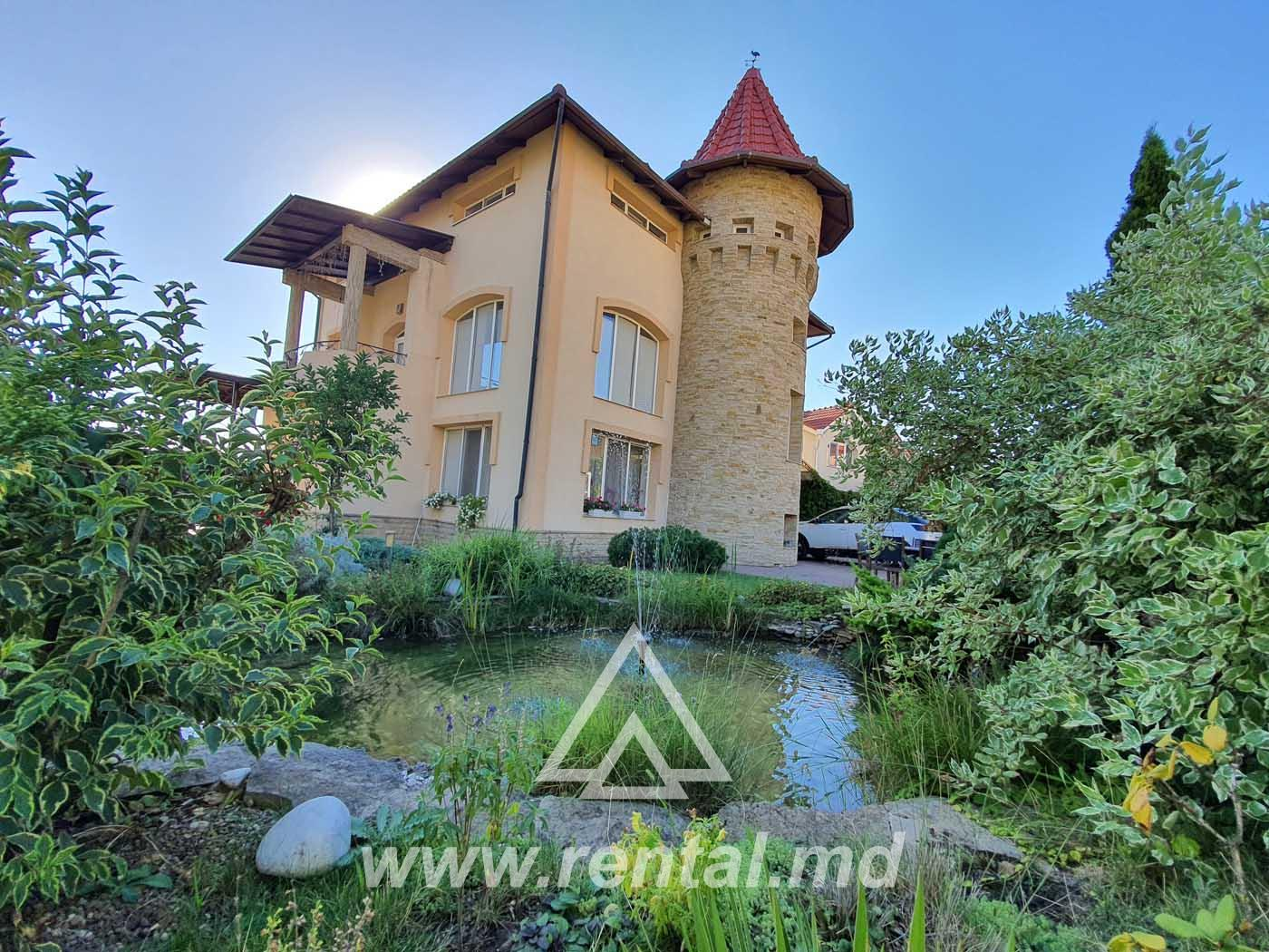 House for rent or sale in Chisinau
