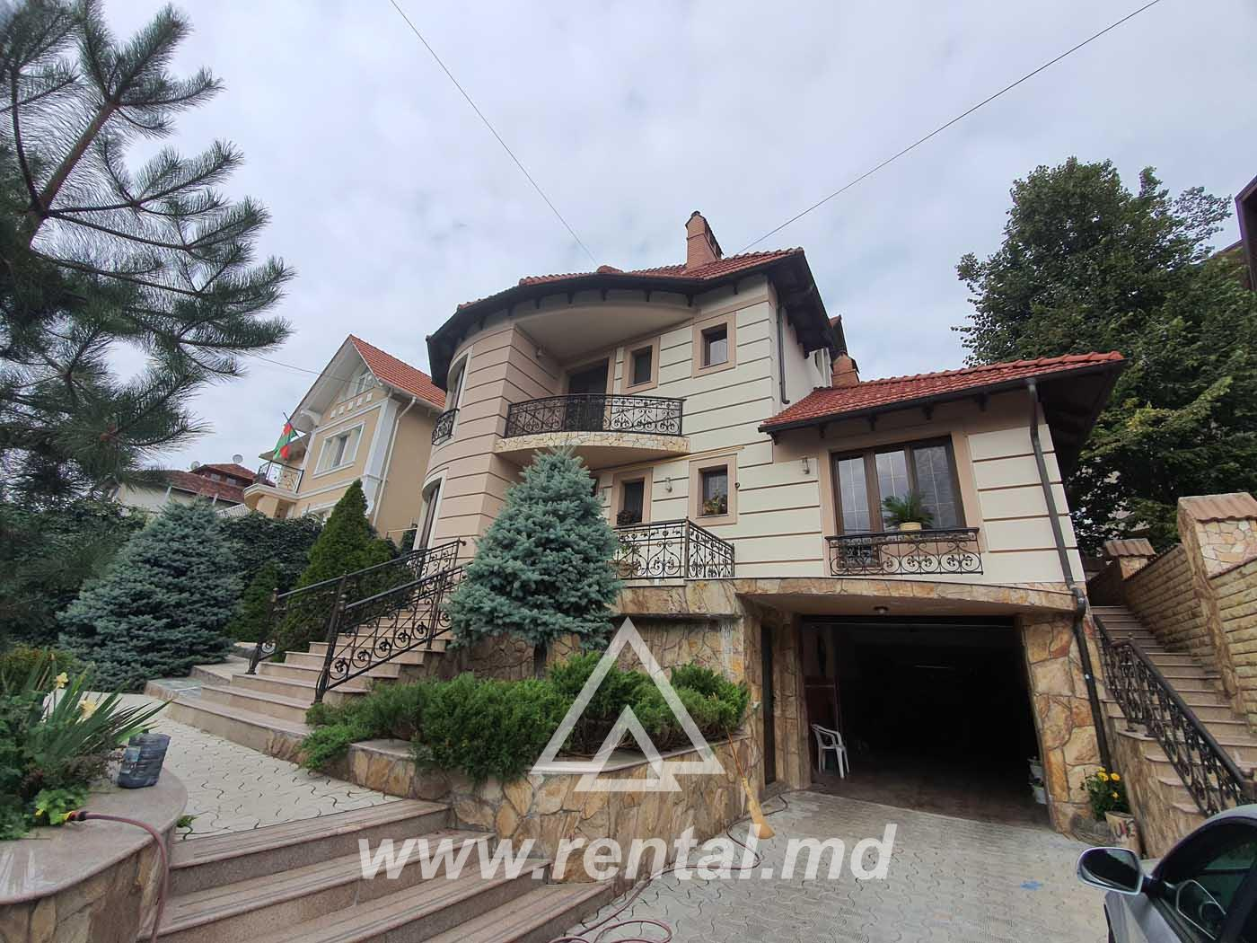 House for rent in Chisinau Telecenter