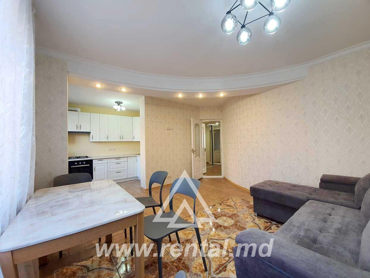 Rent or sale apartment in the center of Chisinau