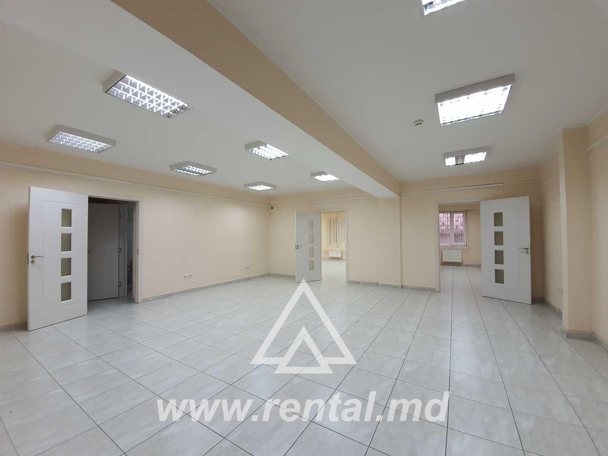 Office for rent in the center of Chisinau