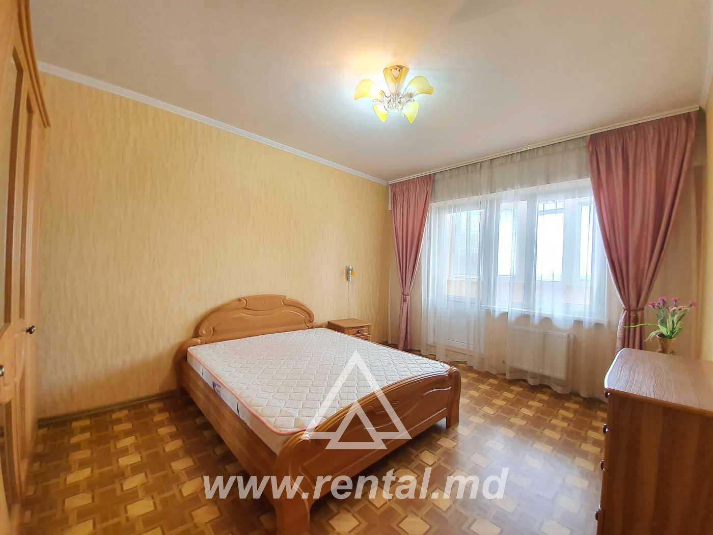 2-rooms apartment for rent in Riscanovca area