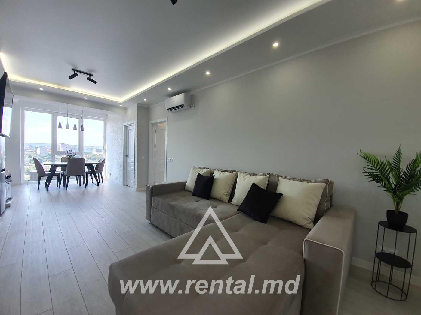 New apartment for rent, new building, Chisinau center