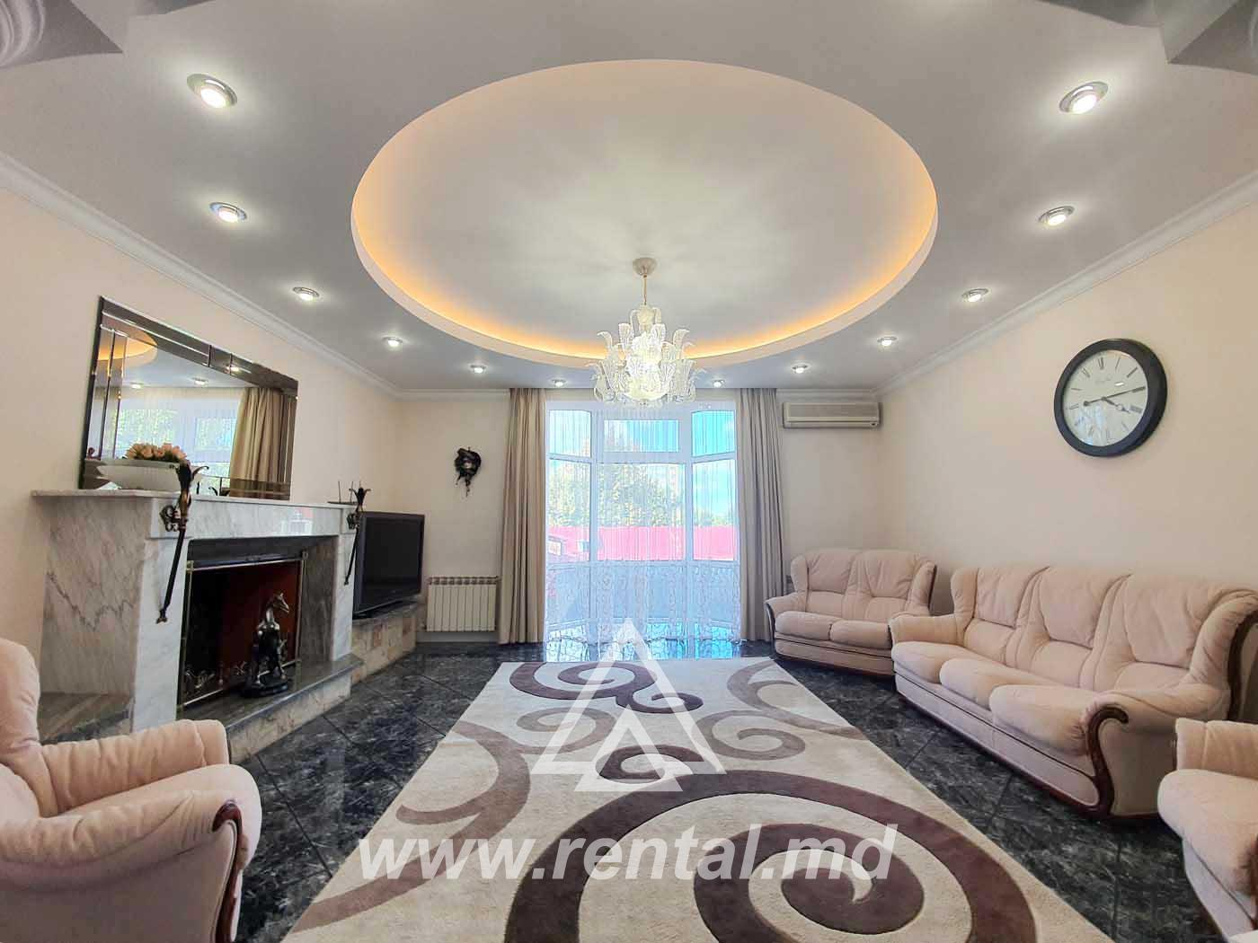 Spacious 3 room apartment for rent, new block of flats